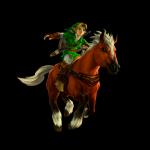 Link reitet seit Ocarina of Time auf einem Pferd . Wie heißt es?
