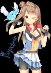 Name: Akira Miu Geschlecht: W Alter: 14 Aussehen: siehe Bild Kleidung: Auf dem Bild ist eig ihr typisches Outfit, aber in dieser Region trägt sie noc