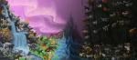 25. Die Grenze zwischen dem Wald der Finsternis und dem SternenClan ist ein weißes unheimliches Licht.