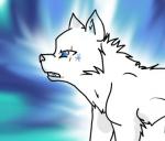 5. Frost aus 'der Ursprung der Clans' ist zum Teil auf einem Auge blind.
