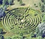 Und das ist das Labyrinth, eigentlich auch ein Zeitvertreib, aber ich nutze es um meinen Orientierungssinn zu verbessern..