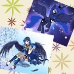 Steckbrief Partner Name: Luna Aussehen: (siehe Bild rechts) Aussehen als Mensch: (siehe Bild links) Kraft: Schatten, Nacht Sonstiges: Sie ist mit Nell