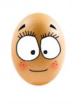 ((bold))Else Ei((ebold)) Name: Else Ei Alter: 6 Tage (Teenager) Geschlecht: weiblich Art: Hühnerei Charakter: hilfsbereit, fröhlich, energiereich, l