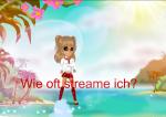 Wie oft streamt Vivien? (Stand 03.10.2016)