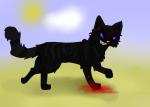 Willkommen zu Bild 2! XD Hier sehen wir den Raider V-8 aka Envy. er hat gerade irgendeine Grenzwache geschlachtet >: D Passt auf ihr Katzen! XD