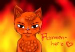 Nr. 3: Der Oberst, Flammenherz:3 Der Hintergrund sieht cool aus!: D