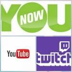 Aktuelle Streams: Bei Twitch (nur Gaming): Bei YouNow: Bei YouTube: