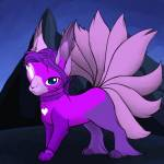 ((purple))Moonheart((epurple)) Moonheart ist eine nette freiheitsliebende Katze. Name: Moonheart Geschlecht: W Aussehen: Lila mit dunkellila Füße, H