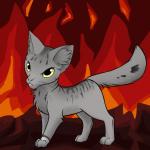 ((maroon))Kratzer((emaroon)) Auch diese Katze ist von Blauherz, leider kann ich die Struktur des Fells nicht verändern und es nicht ungepflegter mach