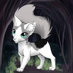 ((green))Netiri((egreen)) Diese Katze wurde sich von Deniz Scholz gewünscht, Hi 😂😃 Name: Netiri Geschlecht: W Aussehen: Weiss grau mit blau gr�
