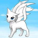 ((maroon))Pegasus((emaroon)) Sonnenuntergang, ist das Pegasus? Name: Pegasus Geschlecht: weiblich Aussehen: schöne, weiße Kätzin mit himmelblauen A
