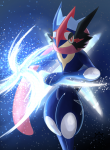 ((navy))((bold))Ash-Quajutsu((ebold)) kommt auch im Rpg vor. Es hilft den Zygarden, die Spuren von Team Flare's Plan zu beseitigen und scheint si