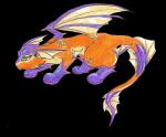 """((purple))Spyro: """"Also eine Drachenentwicklung für Evoli wünscht sich fast jeder. Dieses hier ist unsere Lieblingsdrachenevoli ^^ """"((epurp"""