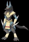 ((blue))((bold))Guarurabis((ebold)) ist eine einzigartige Unterart der Lucarios und ein Kampf/Geist Pokémon. Er ist der loyalste der Leibgarde. ((unl