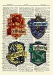 ((big))Die Häuser((ebig)) GRIFFIONDOR! Vielleicht seid ihr in Gryffindor, sagt euer alter Hut, denn dort regieren, wie man weiß, Tapferkeit und Mut.