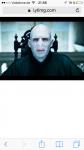 """Im 4. Teil sagt Voldemort """"Stirb Schlammblut""""."""