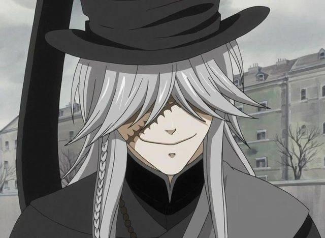 Der Undertaker Aus Dem Anime Black Butler