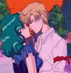Michiru ist mit Haruka zusammen