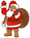 Welche Farbe hatte das Gewand des Weihnachtsmanns ursprünglich?