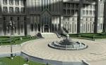 Der Innenhof der Akademie