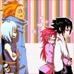 Karins Sicht: Ein neuer schöner Morgen, mit Sasuke….und dem Rest. Wir sind seit heute Morgen 8 Uhr nur gegangen außer diesen beiden Mädchen. Also
