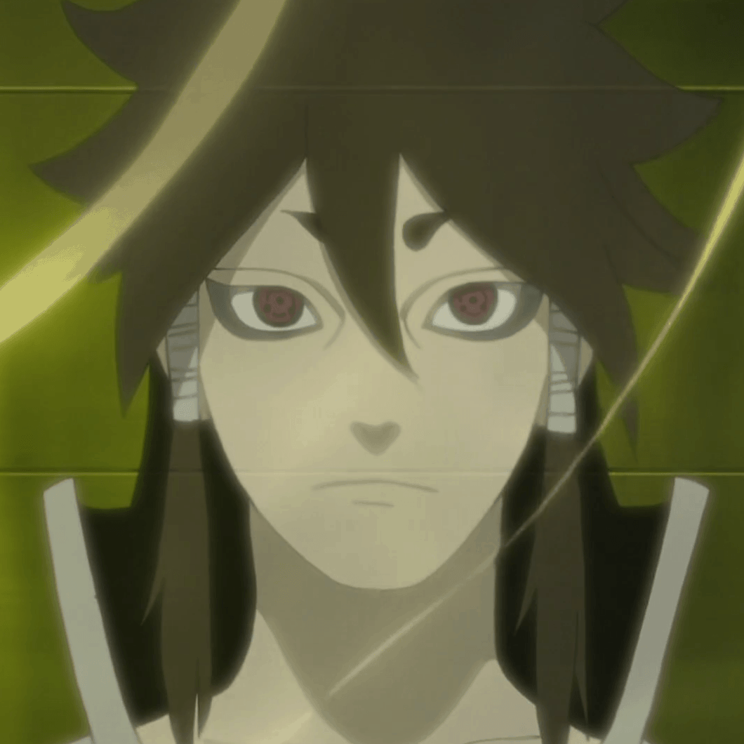 Indra Ootsutsuki aus dem Anime Naruto.