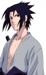 Sasuke Uchiha aus dem Anime Naruto