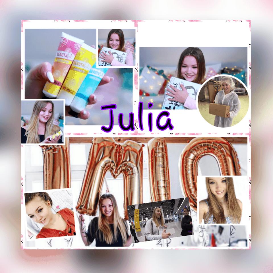 Was war Julias erstes Video?