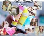 Bei was wird Julia nur beim Geruch kotzübel?