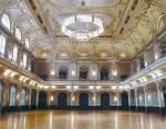 Der Ballsaal für Bälle und feste: