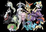Welche Generation hat die meisten legendären Pokemon?