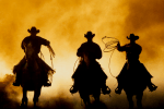 Welcher Held erinnert an den Wilden Westen?