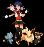 ((bold))Ein neuer Chara von Luna!((ebold)) Name: Sasuka Alter:15 Geschlecht: Weiblich Pokémon: Glurak Aussehen: siehe Bild Wohnort: Bei Flordelis Att