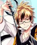 Und noch einer Name: Hyde Yamamoto Alter: 17 Geschlecht: Männlich Aussehen: Er ist 2, 05 groß, seine Haare sind blond mit ein paar schwarzen Spitzen
