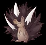 Und hier ist Hyde als Igel