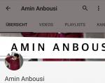Bist du ein echter Fan von Amin Anbousi?