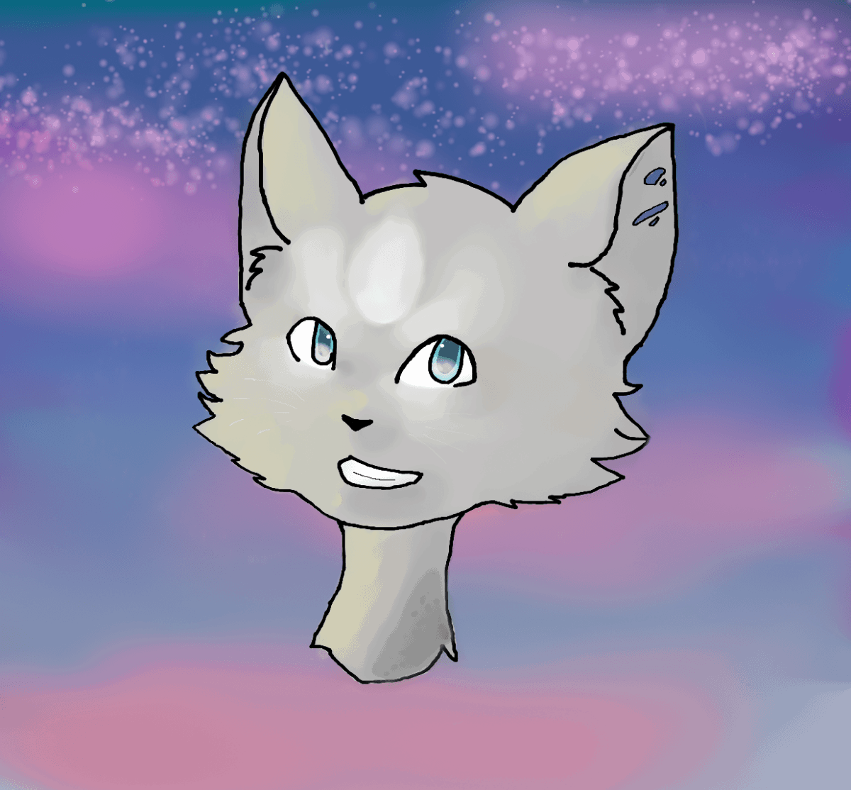 Mein Lieblings Charakter aus Warrior Cats! Name der Datei: cloudstar Programm: MyPaint Charakter: Wolkenstern (aus Warrior Cats) Gezeichnet am: 21.11.