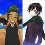 ((red))Tayfun((ered)) Name: Tayfun Alter: 12 Jahre Aussehen: grüne Augen, schwarze zersauste Haare, rotbräunliches Oberteil mit Pyroleomotiv, kurze