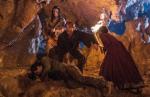 Winnetou: Das Geheimnis vom Silbersee Winnetou, Old Shatterhand und Nscho-tschi lassen den Schatz im Berg zurück.
