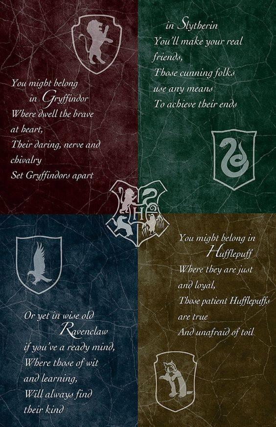 Harry Potter In Welches Hogwarts Haus Gehorst Du