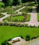 Hier der Garten: