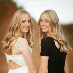 Die Zwillinge leben in Deutschland.
