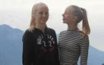 Finja und Svea sind genau gleich groß.