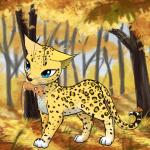 ((olive)) Leopardenschweif((eolive)) Name:Leopardenschweif Geschlecht:W Wenn Weiblich: Erwartet sie Junge?:Nein Aussehen:Wie ein Leopard Chara