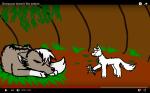 Sharpscar doesn't like zebras