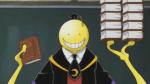 Nach dem Unterricht möchte Koro-Sensei mit dir reden. Es geht um die Prüfung!