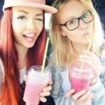 Viktoria und Sarina leben in Deutschland?