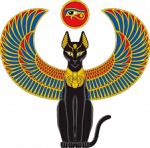 ((big))((bold))((purple))Katzengötter((ebig))((ebold))((epurple)) Ja, wir glauben auch in dieser Zeit an Götter, Katzengötter Stamm unter der glüh