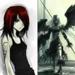 ((bold))gespielt von Moonwall((ebold)) Name: Samantha Fray Spitzname: Sam Alter: 17 Geschlecht: Weiblich Aussehen (Menschlich): Rote schulterlange Haa