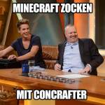 Luca lädt nur Minecraft Let's Plays hoch, da es sein Lieblingsspiel ist.